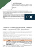 Área de E F Copia Pega Competencias,Capacidades , Desempeños