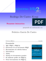 Universo Latex Rodrigo de Castro