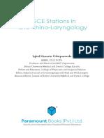 Iqbal H Udapur-OSCE Stations in Oto Rhino Laryngology
