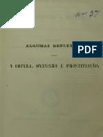 Herédia de Sá. A Cópula, Onanismo e Prostituição. 1845