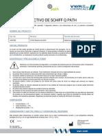 Reactivo de Schiff Q Path MSDS