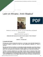Encuentra aquí información de León el Africano; Amin Maalouf para tu escuela ¡Entra ya! _ Rincón del Vago