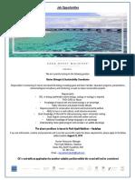 Ad - 13.08.2019 - Marine Biologist