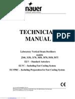 Manual técnico autoclave TUTTNAUER 5075