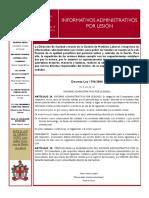 Boletin No 08 Informativos Administrativos Por Lesion