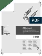 Manual Esmeril Angular Bosch