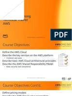 AWS AWSome Day Module 1