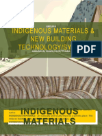 Indigenous Materials Architecture