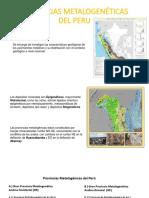 Provincias Metalogenéticas Del Peru