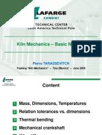 Kiln Mechanics - [ 1.1 ] - ''Basic Notions''