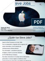 Presentacion Steve Jobs Show