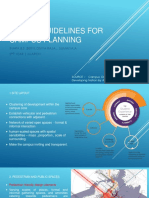 Design Guidelines for Campus Planing - 1