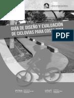 Guía de diseño y evaluación de ciclovías LanammeUCR