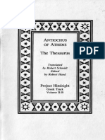 299896946 eBook PH Greek V02B Antiochus of Athens the Thesaurus PDF
