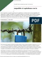 ¿Es Realmente Incompatible El Capitalismo Con La Democracia Nueva Sociedad