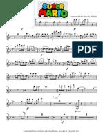 Super Mario Bross - Flute 1