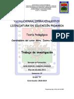 Investigación Maestra Zosima Juan Manuel