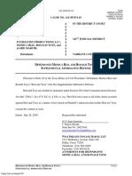 Monica Rial , Ron Toye - Defendants Supplemental Affirmative Defense