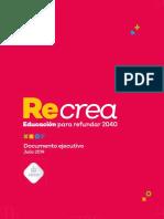 Recrea | Proyecto Educativo