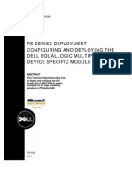 Configuring and Deploying the Dell Equal Logic Multipath I O Device Specific Module (DSM) in a PS Series SAN[1]