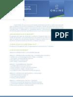 Diplomado Online en Antropología Filosófica Contemporánea