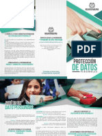 Folleto Proteccion de Datos Personales