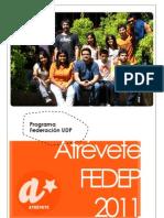 Proyecto FEDEP 2011