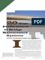 20 Year Performance Bridge Maintenance Systems