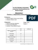Práctica 1 - Electrónica I