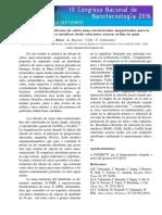 Resumen Alejandro Briso R Congreso Nanotecnologia 2016