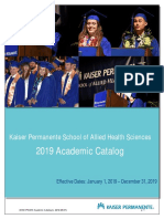 KPHAS Academic Catalog 2019