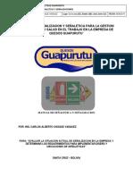 Plan Señalizacion de Seguridad Guapurutu