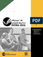 Manual de formación pastoral social