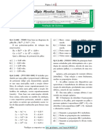 2º Médio -2B -Global - Quimica