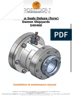 Poseidon Pegasus Seals Deluxe (Forw) Installation and Maintenance Manual...