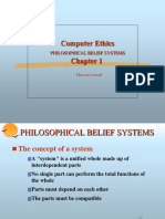 chap01- PHILOSOPHICAL BELIEF SYSTEMS.ppt