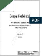 Compal La-5893p r1.0 Schematics