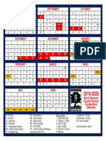 2019-2020 nscsc calendar