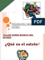 Prevención y Manejo Del Estres