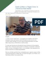 El Desmantelamiento Político a Vargas Llosa