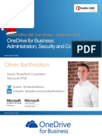 OneDrive for Business Administration Security Compliance