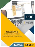 6.8 NOTIFICACIONES ENTIDAD Manual de Usuario Entidad - Notificaciones de Supresión a las Expresiones de Interés.