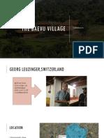 Case Study on Beavu the Village