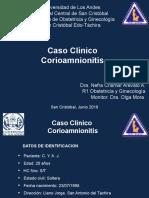 Caso Clinico Corioamniomnitis