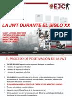 Diapositivas Exposición La Jwt en El Siglo Xx