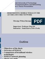 Dimension Ing Mobile WiMAX2