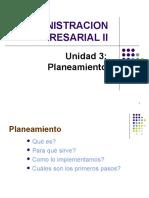 Adm II Planeamiento