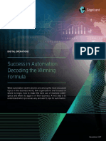 Success in Automation Decoding the Winning Formula Codex3038