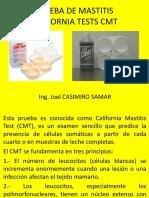 6ta Clase Prueba California Mastitis