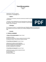 Syllabus Microeconomía